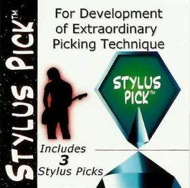 スタイラスピック / STYLUS PICK 赤 3枚セット ギター ピック 速弾き ピッキング 練習 正規輸入品