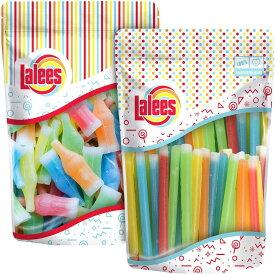 【ボトル、スティックセット】Lalees社 Nik L Nip Candy・Wax Bottles & Candy Wax Candy Sticks 各340g 海外直送品 ワックスボトル キャンディー ニックルニップ ワックスキャンディー