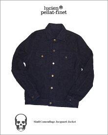 ルシアンぺラフィネスカル Gジャン ジャケット カモフラージュLucien Pellat-finet Skull Jacket