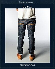 ヌーディージーンズ NudieJeans シンフィン オーガニック ドライツイル L30ThinFinn Org.Dry.Twill 北欧 スウェーデン デニム