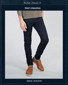 ヌーディージーンズ NudieJeans TightLongJohn BlackAlchemy L30タイトロングジョン ブラックアルケミー
