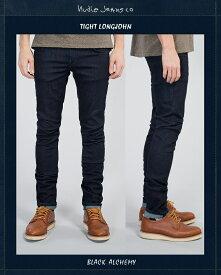 ヌーディージーンズ NudieJeans TightLongJohn BlackAlchemy L32タイトロングジョン ブラックアルケミー