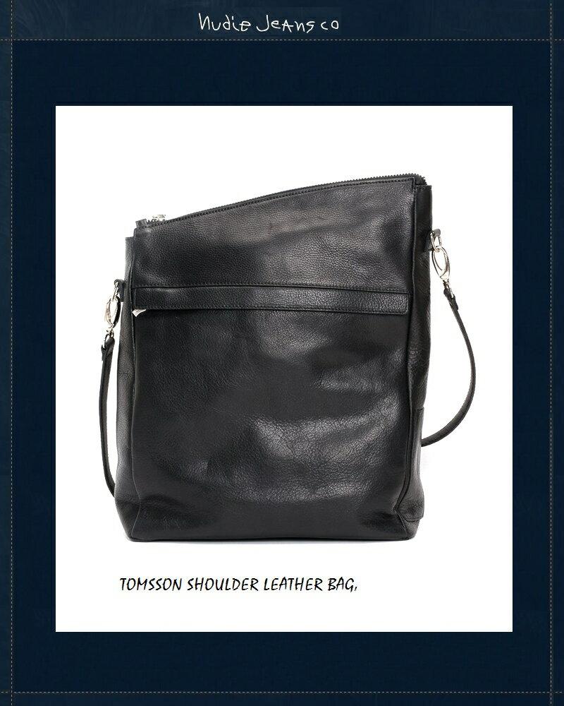 【全品P2倍】ヌーディージーンズ Nudiejeans レザーバッグ 限定カプセルコレクションNudieJeans TOMSSON ShoulderBag 北欧 スウェーデン