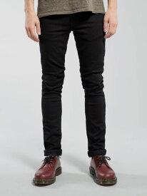 ヌーディージーンズ【NudieJeans TightLongJohn BlackBlack L30】【タイトロングジョン ブラックブラック】