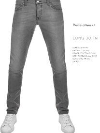 ヌーディージーンズ ロングジョン グレースパークスL32NudieJeans LongJohn GreySparks