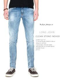 ヌーディージーンズ ロングジョン クリーン ストーン インディゴ L30NudieJeans LongJohn CleanStoneIndigo