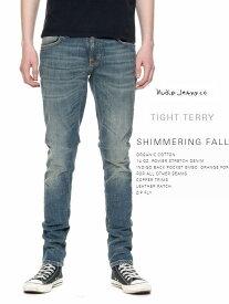 【全品P2倍】ヌーディージーンズ タイトテリー インディゴ L30NudieJeans TIGHTTERRY SHIMMERING FALLスウェーデン デニム