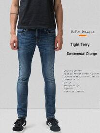 【マラソン全品ポイント2倍〜9/24 01:59】ヌーディージーンズ タイトテリー L30 センチメンタル オレンジNudieJeans TIGHTTERRY SENTIMENTAL ORANGEスウェーデン デニム