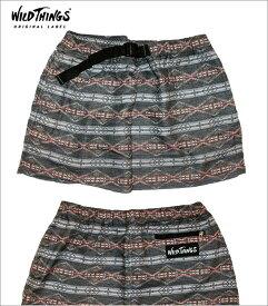 "【Wild Things】【Pattern""ChambraySkirt""Black】【ワイルドシングス""シャンブレースカート】"