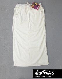 Wild Things PileLong Skirtワイルドシングス クールマックス パイル ロングスカート