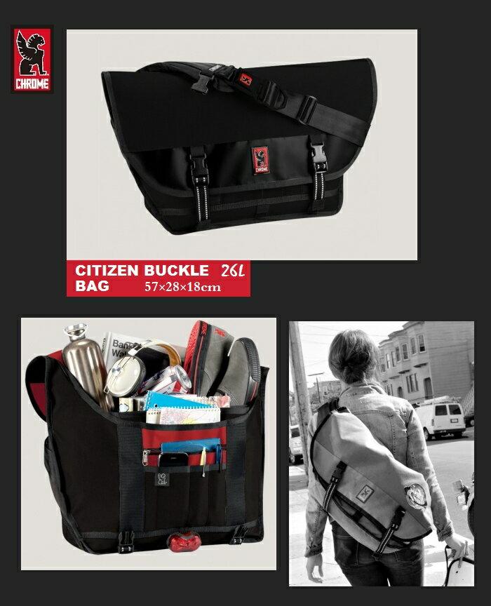 【全品ポイント2倍】CHROME Citizen AllBlackクローム シチズン メッセンジャーバッグ USA アメリカ