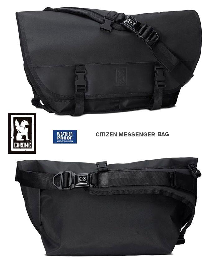 【全品ポイント2倍】CHROME Citizen BlckChrmクローム メッセンジャーバッグ ブラッククローム 最強のクローム ハイパロン素材モデル