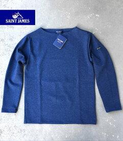 【マラソン全品ポイント2倍〜9/24 01:59】SAINT JAMES OUESSANT/GUILDOセントジェームス フランス製 ボートネック SOLID Tシャツ