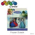 クロックスcrocsジビッツ【Frozen3pack/フローズン3パック】【クロックス国内正規取り扱い】