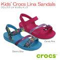 クロックスcrocsKids'CrocsLinaSandalsクロックスリナサンダルキッズ【クロックス国内正規取り扱い】