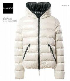 2018-19秋冬新作 DUVETICA Dionisio col.021デュべティカ ディオニシオ オフホワイト ダウンジャケット メンズ イタリア