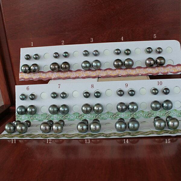 """●<Titan Piace>""""装せ替え""""<百合Swing>黒蝶真珠ペア<丹秀う彩りTop quality>11.5-11.75mmブラ(脱着可)W環/7.5-7.75mm 直結 ※SV<Earring>ネジバネ 直結/K14WGK18ピアスなどはオプションです。"""