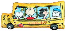 ピーナッツ スヌーピー スクールバス クッション 長さ80cm 4548643070029