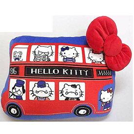 Hello Kitty in London ダイカットクッション 4548643125439