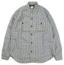 "FREEWHEELERS & CO. [""Neal"" Neal Cassady Rail Road #2013001 WHITE×INDIGO SMALL CHECK size.13,14,15,16,17,17 1/2]"