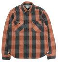 "JELADO [""Unionworkers Shirt"" ショート丈 STANDARD COLLECTION JP52129 ブリックブラウン size.XS,S,M,L,XL]"