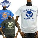 バズリクソンズBUZZ RICKSONS ミリタリーTシャツ「U.S.AIR FORCE」BR77690