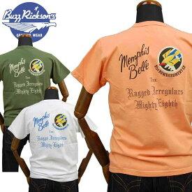 バズリクソンズBUZZ RICKSONS ミリタリーTシャツ「91st BOMB SQ.」BR78540