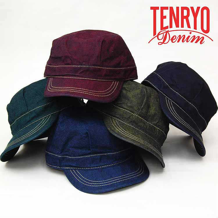 倉敷天領デニム(TENRYO DENIM) カラーレボリューション WORK CAPワークキャップ「TDA007」