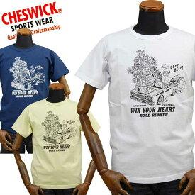 【楽天スーパーSALE対象商品】チェスウィックCHESWICK ロードランナーROAD RUNNER Tシャツ「SUPER ENGINE」CH78253