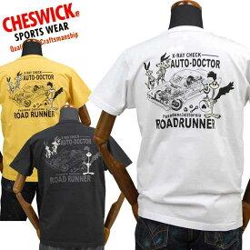 チェスウィックCHESWICK ロードランナーROAD RUNNER Tシャツ「X RAY DOCTOR」CH78254