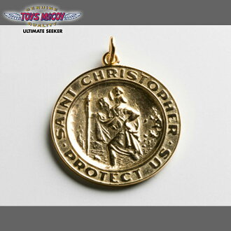 麦科伊玩具麦科伊史蒂夫 · 麦奎因 ST.CHRISTOPHER 吊坠黄金黄金为圣克里斯多福吊坠 TMA1631 / 休闲 / 男士