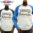 トイズマッコイTOYS McCOY マックヒルスポーツウェアーMcHILL SPORTS WEAR ロングスリーブTシャツ「JOHNSON MOTORS」…