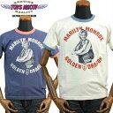 TOYS McCOYトイズマッコイ MARILYN MONROEマリリンモンロー Tシャツ「GOLDEN DRAGON」TMC1749
