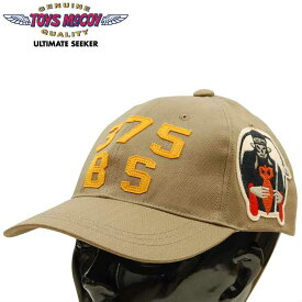 """トイズマッコイ TOYS McCOY コットンキャップ COTTON CAP 375BS「KING'S """"X"""" 」TMA1917"""