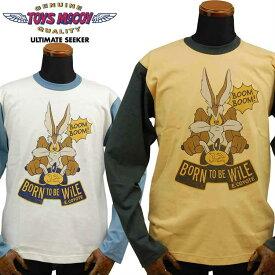 トイズマッコイ TOYS McCOY McHILL SPORTS WEAR マックヒル ロングTシャツ「BORN TO BE WILE.E.COYOTE」TMC1949