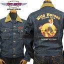 トイズマッコイ TOYS McCOY デニムジャケット DENIM JACKET LOT 001LJ MARILYN MONROE「WILD HORSES」TMJ1930