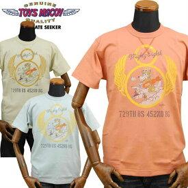 トイズマッコイTOYS McCOY ミリタリーTシャツ「729TH BOMBER SQDN」TMC1942