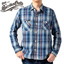 ストライクゴールド THE STRIKE GOLD ルーズネルチェックワークシャツ LOOSE NEL CHECK WORK SHIRTS「SGS2003」
