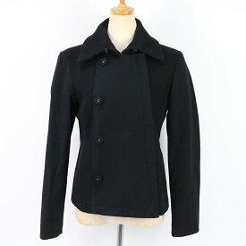 MAX&Co. / マックス アンド コー | ウールダブルライダースジャケット | 42 | ブラック | レディース
