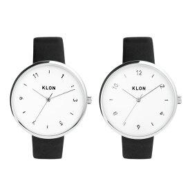 KLON PASS TIME ELFIN 38mm , レディース メンズ ペアウォッチ 腕時計 黒 シンプル モノトーン 誕生日 ペアウォッチ 母の日 進学 バレンタイン 新生活 祝い 就活
