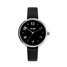 【ポイント10倍】 KLON PASS TIME DARING EVEN 【BLACK SURFACE】 33mm , クローン レディース メンズ ペアウォッチ 腕時計 黒 シンプル モノトーン 誕生日 ペアウォッチ お揃い 祝い ギフト プレゼント 父の日