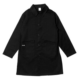 【ポイント10倍】KLON SOUTIEN COLLAR COAT , クローン レディース メンズ アウター 黒 モノトーン シンプル シャツ M L XL アウター お揃い 祝い ギフト プレゼント