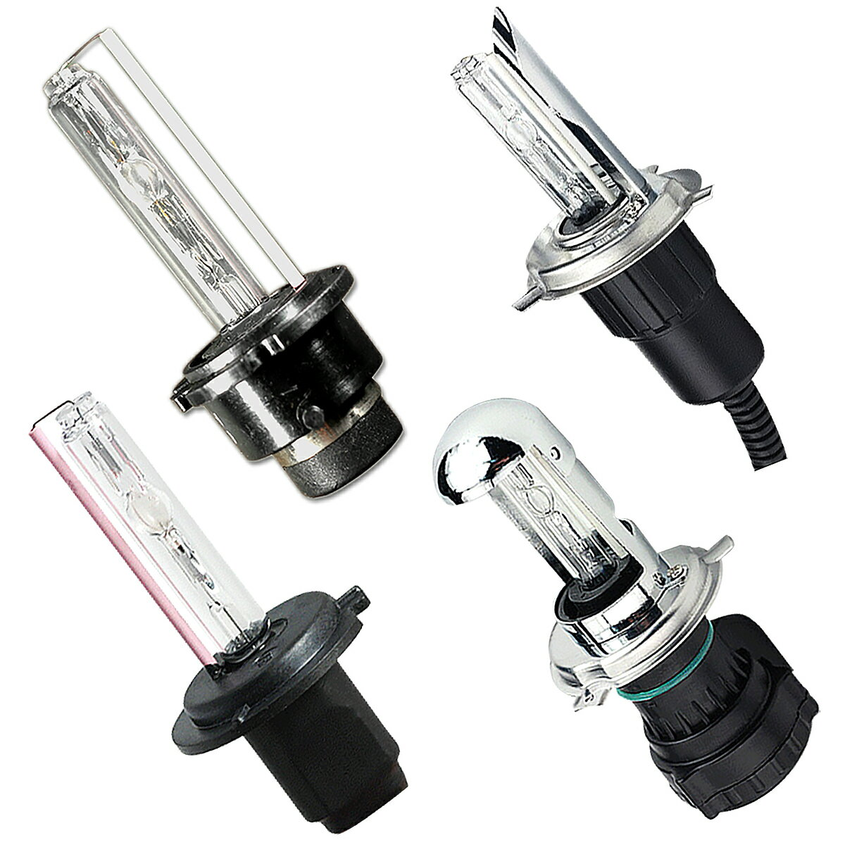 HID スズキ SUZUKI エスクード TD62W ヘッド 2個入り [35W 55W ナノテック採用 完全防水 3000K 4300K 6000K 8000K 12000K HIDキット リレーレス 選択可][H4 Hi/Lo HIDキット] 代引不可 宅配便送料無料 1年保証 K&M