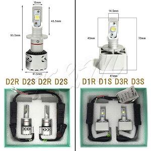 LEDヘッドライトLEDD2CD2RD2SD4CD4RD4SD1CD1RD1SD3CD3RD3SCREE6500K(車検対応)2個入り6000LMヘッドライトフォグランプ12V24V輸入車対応宅配便送料無料6ヶ月保証K&M