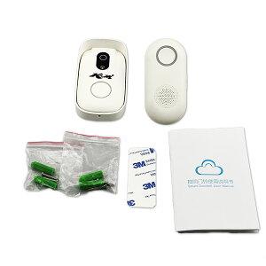ドアカメラ防犯用インターホンWi-Fi+RFD2SmartDoorcam自動撮影WIFIチャイム受信距離約30Mスマートインターホン訪問者の姿がスマホやiPhoneでチェック出来るので怖がりの人でも安心安全宅配便送料無料PSE技適1年保証K&M