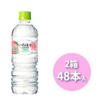 日语假名李子555ml 48部PET日语假名软水矿泉水水滋味水桃子
