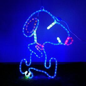 イルミネーション モチーフライト 子犬 63×50cm 動物 キャラクター LED ライト 屋外用 防雨 防水 かわいい 2D 大きい イヌ 庭 ガーデンンライト 吊り下げ 電飾 フェンス マンション 樹木