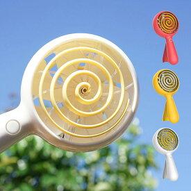 ハンディファン CandyFan ホワイト/レッド/イエロー USB 充電式 大容量 2600mAh 風量調整 3段階 自立スタンド 長時間使用 扇風機 携帯 小型 かわいい 手持ち 卓上 ハンディーファン ミニ扇風機 ポータブル扇風機 卓上扇風機 熱中症対策