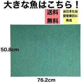 グリーンパーチ 魚を包む緑の紙 耐湿紙 熟成 耐水紙 パーチペーパー 津本式 釣り 血抜き 半切508×762mm 500枚