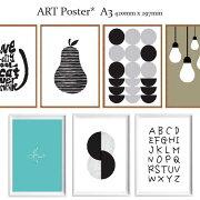 全8種アートポスター北欧ポスターA3サイズARTデザインアートプリントインテリア額縁フレーム